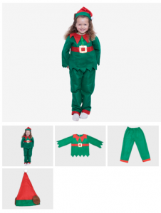 Childs Elf Suit