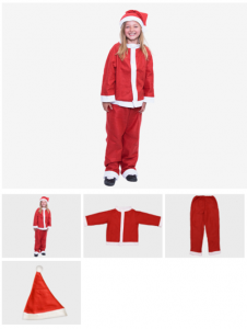 Childs Santa Suit