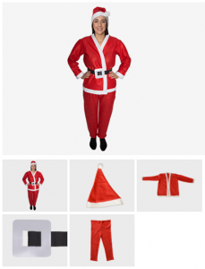 Youth Santa Suit