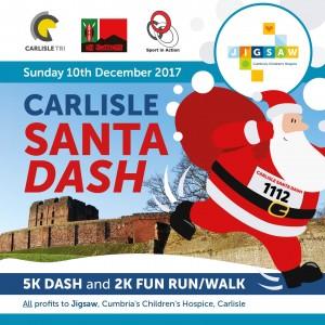 Carlisle Santa Dash Web Header 2017