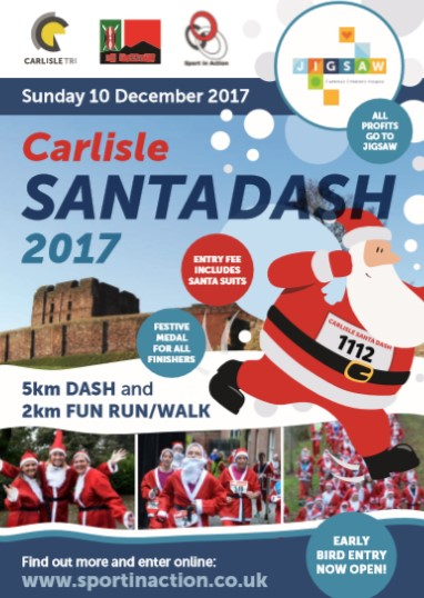 Santa Dash & Fun Run 2017